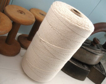 Cotton Seine Twine #12 Natural - 16 feet   (C32)