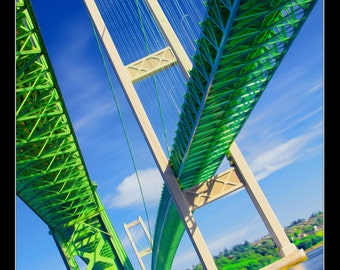 Tacoma Narrows Bridge Photography Print