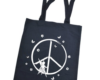 3Elfen cloth bag  Peace Pixie