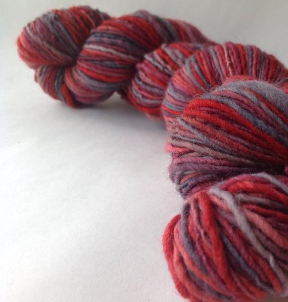 ON SALE - Slumbering Heart - millspun yarn, worsted weight