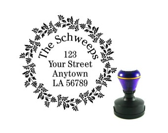 Personalized Self Inking Address Stamp - Return address stamp R140