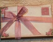 Wedding Guestbook Alternative, Vintage Post Cards,   Wedding Wishes, Shabby Chic Wedding, Wishes for the Bride and Groom, 100
