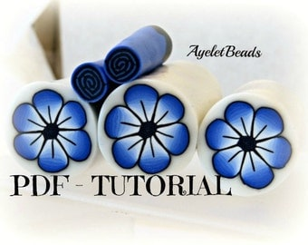 Basic polymer Clay Millefiori Cane Tutorial