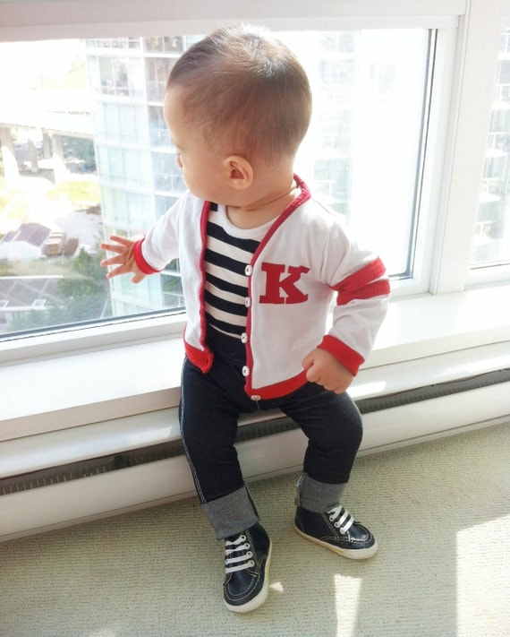 Retro Baby Boy Outfit - 50s