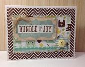 The Bundle of Joy Baby Card