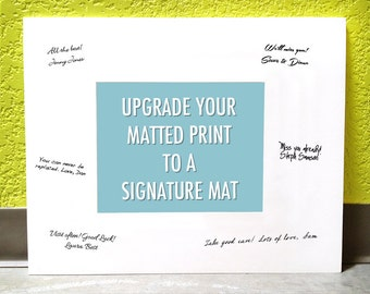 UPGRADE to a SIGNATURE MAT