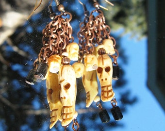 Dia de los Muertos Earrings I