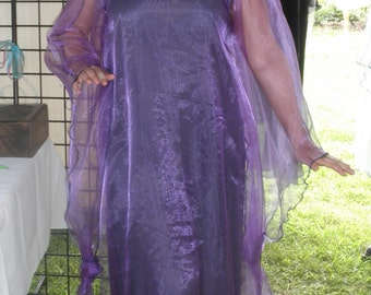 Purple Fairy Goddess Dress