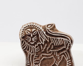 Sale Hand Carved Stamps Lion 207