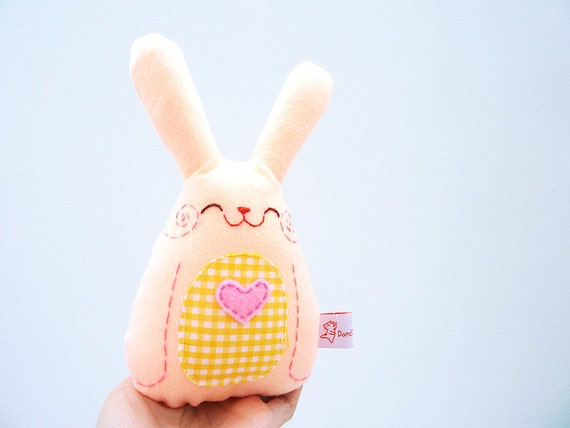 Https Www Etsy Com Listing 221925680 Home Decor Rabbit Plush Bunny Easter