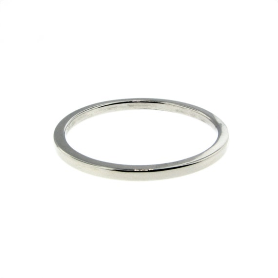 Skinny Gold Band Stacking Rings Custom Hand Crafted Engraved Artisan Handmade Fine Designer Fashion Mom Mommy Dainty Petite Jewelry
