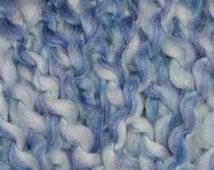 new lion brand homespun yarn 355 DELFT blue white variegated 6 ounces acrylic polyester bulky soft knitting crochet soft knit afghan yarn