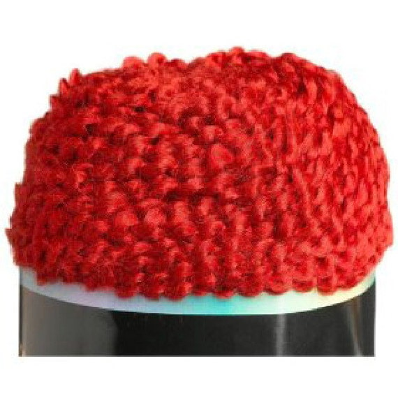 Homespun Yarn : new lion brand homespun yarn 400 CHILI dark fire red 6 ounces acrylic ...