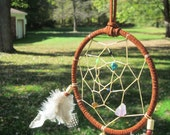 Dream Catcher 6in with turquoise, amethyst, onyx and more
