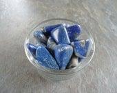 Lapis Lazuli Crystals - Healing - Set of 2 Stones - Faith - Imagination - Introspection