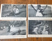 Antique Postcards, Early 1900s, Song Series, Charles Harris, Romantic