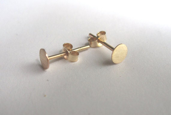 Solid 14k Gold Studs t for her gold earrings gold stud