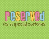 Reserved for AllySteinerD