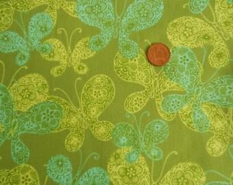 BTY URBAN Rhapsody print fabric