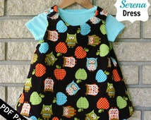 Sew Can Do Reversible Serena Baby Dress PDF Pattern