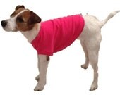 Bright Pink Shirt for Little Dog - 3 Sizes to Choose From - Guaranteed Fit - Returns Accepted