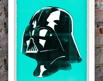 Star Wars Inspired Print (Villains Series: VADER) A3