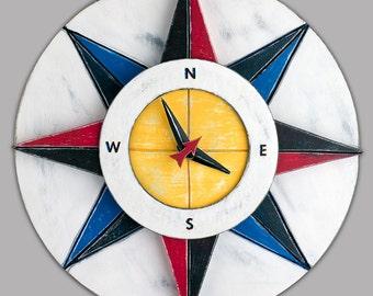 Compass Clock RYB