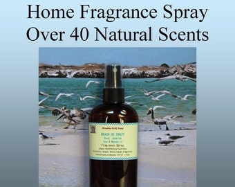 Home Fragrance - Room and Linen Spray - Natural Air Freshener Eco Friendly