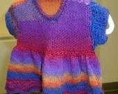 Multi-Shaded Infant Dress