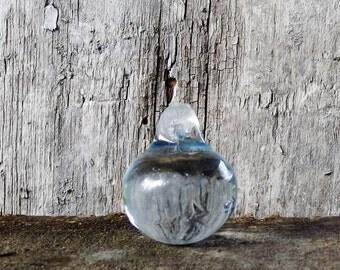 Vintage Prism Blue Pear Glass Chandelier Prism