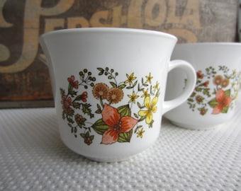 Vintage Corelle Indian Summer Mugs