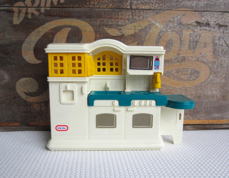 Vintage Little Tikes Country Kitchen Dollhouse Furniture