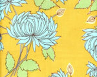 Amy Butler- Belle Collection-Chrysanthemum in Mustard
