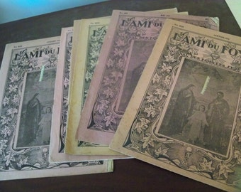 half dozen lami du foyer  french paper religous  journals