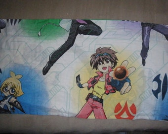 Bakugan Curtain Valance or Repurpose for Fabric