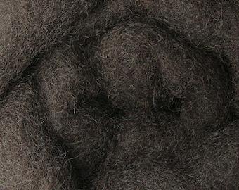 2 oz C-1 Needle Felting Wool Espresso
