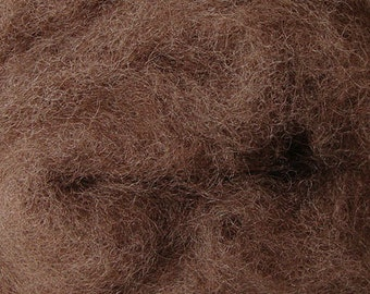 2 oz C-1 Needle Felting Wool Light Brown