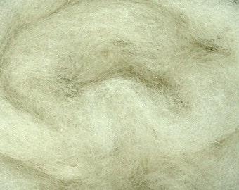 2 oz C-1 Needle Felting Wool White