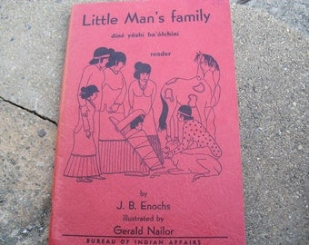 Vintage Book Little Man's Family
