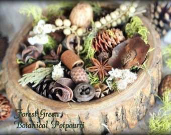 Green Forest Botanical Potpourri. Eco-friendly and 100% Natural