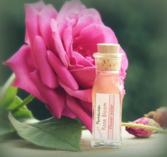 Organic Rose Facial Toner. Vegan. Natural. SAMPLE - Rose Bloom