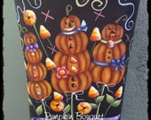 E-Pattern - Pumpkin Bouquet
