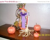ON SALE Barbie Halloween  Hand Knit Costume