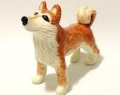 Shiba Dog Sculpture, Standing
