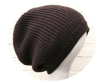 Dreadlock tam, brown dread beanie hat, dreadlocks accessory.