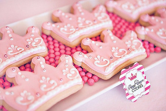 Princess Crown Cookies 1 Dozen