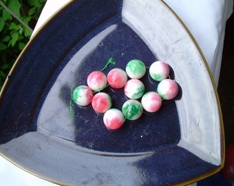 Large Candy Jade Beads