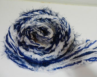 Indianapolis Colts Scarf, Crochet Scarf TEAM Pippy Scarf, NFL Scarf