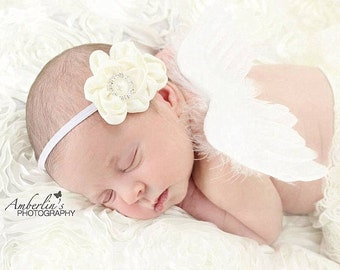 mini baby feather angel wings for photo prop. these do not have straps and for photography