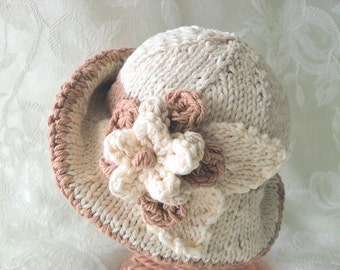 Baby Hat Knitting Knitted Baby Hats Knit Baby Hat Baby Girl Clothing Baby Hat with Flower Cotton Knitted Brimmed Baby Hat Newborn Baby Hat